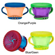 Nuby 9-ounce Snack Keepers