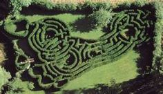 The 'Imprint' is a hedge maze design in the shape of a foot ...