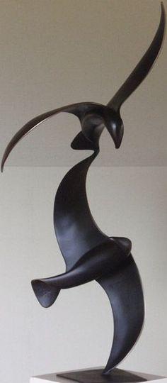Trevor J. Askin, Sparks Fly, bronze.