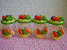 biscuit potes   Início > Casa > Vidros Decorados > potes decorados em biscuit.