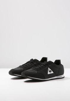 Le Coq Sportif Men Racerone Classic Trainers 1520609 Black Fashion Shoes # LeCoqSportif #AthleticSneakers
