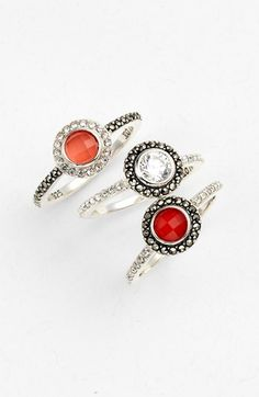 coral stacking rings