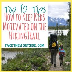The absolute best tips for hiking with kids gathered from expert and experience outdoor hiking families. Learn how to keep kids happy & moving on the trail! Best Camping Gear, Camping Games, Backpacking Tips, Hiking Tips, Camping And Hiking, Family Camping, Tent Camping, Outdoor Camping, Camping Tips