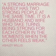 This is what its all about. so true in so many types of relationships