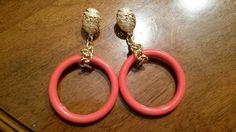 Orecchini in resina  con perno dorato..by ilcassettodeisogni http://m.facebook.com/Il-Cassetto-dei-Sogni-1890162974542736/