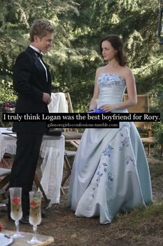 Gilmore Girls Confessions  Amen sister! They had a rocky start but he got there eventually