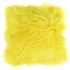 Zoeppritz Explode Cushion - 40x40cm - Lemon (¥13,210) ❤ liked on Polyvore featuring home, home decor, throw pillows, pillows, cushions, furniture, yellow, yellow throw pillows, yellow home decor and yellow accent pillows