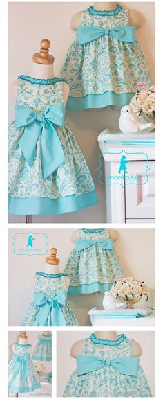 Kinder Kouture dresses.