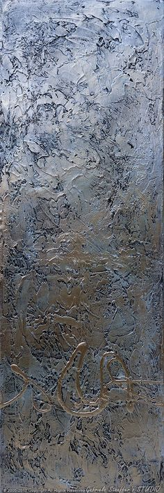 Abstract Modern Painting Original Landscape Textured Art by Gabriela, via Etsy.