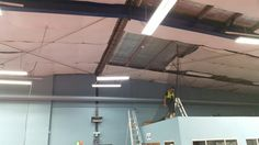 Installing Roof Insulation Foil