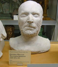 General William Tecumseh Sherman death mask, 1891 | Flickr - Photo Sharing!