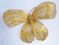 Ouro em Fios e Grãos: Filigrana Filigree Jewelry, Silver Filigree, Jewelry Art, 925 Silver, Beaded Jewelry, Portugal, Quilling 3d, Marcasite, Retro