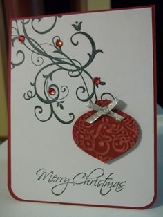 Core'dinations Paper with Lacy Brocade embossing folder from Stampin Up!
