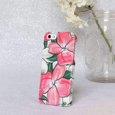 dogwood BLOOM floral iphone 5/5s case by shopthebugandthebird