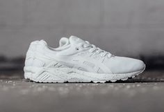 Asics Gel Kayano Trainer White Mono