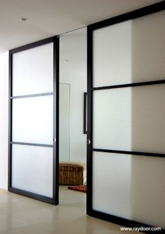 Warm Modern Sliding Doors [ CLICK HERE! ] Specialtydoors.com | #modern #