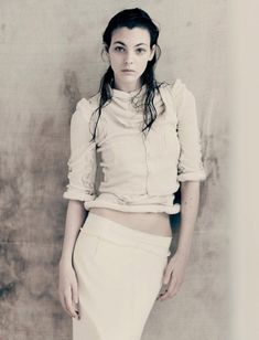 Vittoria Ceretti Is 'Pure' In Paolo Roversi Images For Interview Magazine April 2017 — Anne of Carversville