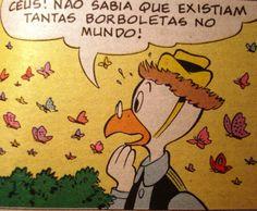 Professor Pardal.  Ilustração Walt Disney.