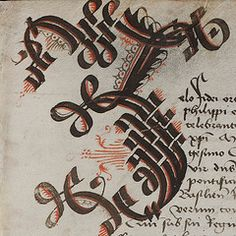 The World's Best Photos of manuscript and medieval Calligraphy Letters Alphabet, Handwriting Alphabet, Calligraphy Envelope, Modern Calligraphy, Envelope Addressing, Font Alphabet, Graffiti Alphabet, Wood Letters, Lettering Tutorial