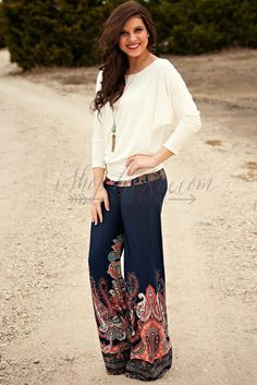 JUST ABOUT ANYWHERE PALAZZO PANTS