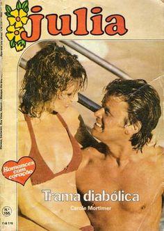 Meus Romances Blog: Trama Diabólica - Carole Mortimer - Julia nº 155