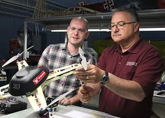 Springfield-made drone approved for utility work, sign of job growth l U.S. Aerobatix received a waiver from the Federal Aviation Administration and will use the drone to fly close to power lines, cell phone towers, wind turbines and solar power panels to inspect them using sensors and infrared cameras.