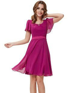 30 usd HE03990PP06, Purple, 4US, Ever Pretty Summer Dresses For Juniors 03990