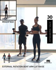 Fitness Workouts, Full Body Hiit Workout, Gym Workout Videos, Gym Workout For Beginners, Fitness Workout For Women, Toning Workouts, Fitness Tips, Upper Body Hiit Workouts, Post Workout