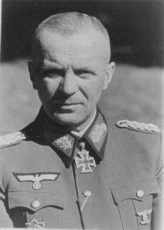 ✠ Albrecht Schubert (23 June 1886 - 26 November 1966) RK 17.09.1941 General der Infanterie K.G. XXIII. AK