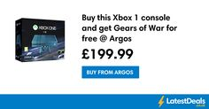 Buy this Xbox 1 console and get Gears of War for free @ Argos, £199.99 at Argos