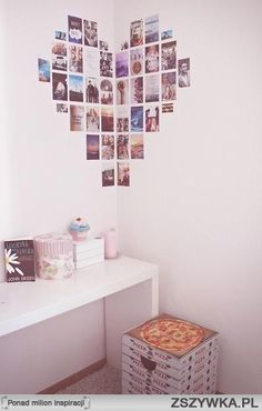 DIY                                                             photo wall art