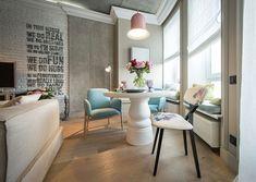 Locuință de 48 mp în stil romanticreinterpretat în variantă contemporană | Adela Pârvu – jurnalist home & garden