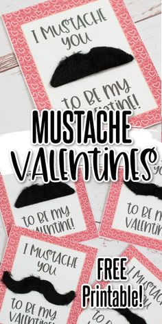 Stick on mustaches are so much fun! These printable valentines are a great way to share the fun with friends! Just print out these mustache valentines, add some fake mustaches and hand them out! Happy Valentine Day HAPPY VALENTINE DAY   IN.PINTEREST.COM WALLPAPER EDUCRATSWEB