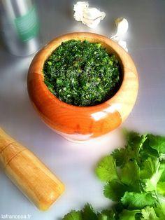 Géopolotique du pesto : el mojo verde de coriandre des Canaries