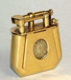 Dunhill 18ct Fancy Shape Watch Lighter