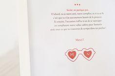 Marie et Nicolas, mariage fun en rouge et blanc | The bride next doorThe bride next door