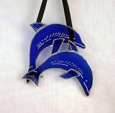 Blue Dolphins Suncatcher