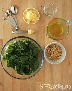 The Gluten Free Scallywag: Homemade Basil Pesto - Naturally Gluten Free!