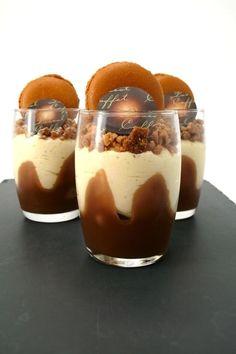 Verrines à la vanille et au caramel à la fleur de sel de Guérande : la recette facile