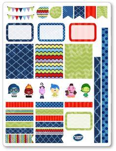 Feelings Decorating Kit / Weekly Spread Planner Stickers for Erin Condren Planner, Filofax, Plum Paper