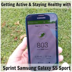 Getting Active and Staying Healthy with the Samsung Galaxy S5 Sport #SprintMom #Sponsored #MC