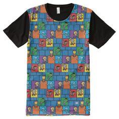 Kawaii Avengers In Colorful Blocks All-Over-Print T-Shirt   american dream marvel, funny marvel comics, marvel art #MarvelLegends #Marvelfan #marvelmemes, 4th of july party Thanos Marvel, Marvel Fan, Marvel Memes, Marvel Comics, Marvel Legends, Hulk, Avengers, Kawaii, Colorful