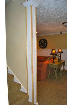 Faux Interior Columns   Half Column Design Ideas, Pictures ...