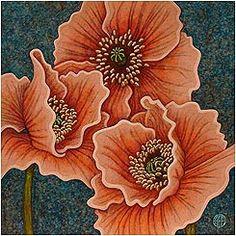 Amy E. Fraser's Poppy Gallery [Poppy Paintings]