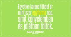 Paulo Coelho idézet a kényelmes életről. All You Need Is, Motivational Quotes, Wisdom, Messages, Life, Paulo Coelho, Motivating Quotes, Text Posts