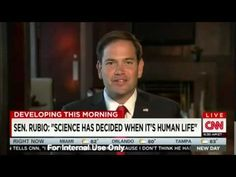 Marco Rubio Crushes CNN Host for His Ignorance about Human Life! - The Political Insider