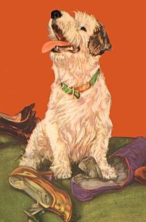 Great dog art DIANA THORNE, artist