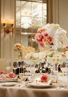 Flower arrangement at Tokyo Station Hotel 東京ステーションホテルブライダル