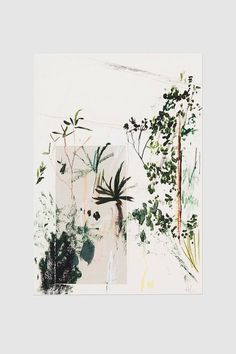 kew forestry print by alicia galer