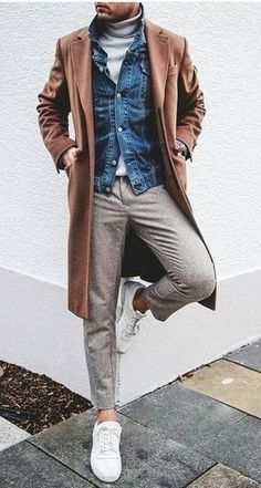 Smart Casual Dresscode Smart Casual Dresscode Beispiel 5 The post Smart Casual Dress Code & Herbst/Winter appeared first on Mens Style . Korean Fashion Men, Fashion Mode, Look Fashion, Fashion Photo, Fall Fashion, Fashion Ideas, Womens Fashion, Casual Look For Men, Casual Looks